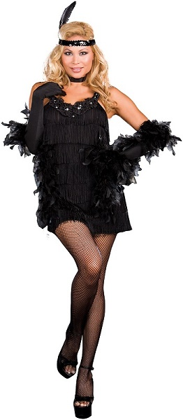 Plus Black Flapper